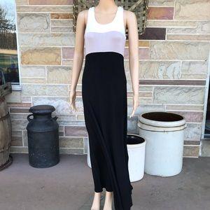 Calvin Klein Colorblock Maxi Dress